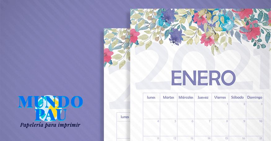 calendario de flores 2021